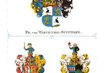 Württembergisches Wappenbuch / Dorst von Schatzberg, Leonhard, 1809-1851 (1846)