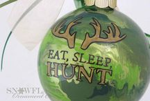 Camouflage Christmas Ornament