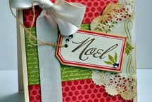 Paper Crafty - Christmas card ideas / Ideas for easy to make & reproduce Christmas cards
