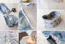 Pantaloni scurți de blugi