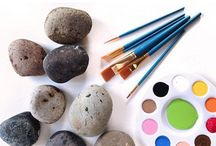 Rock Painting Ideas / Fun and inspirational ideas for rock and pebble painting.