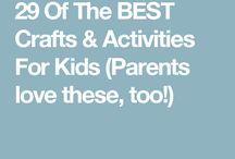 Crafts with children