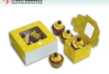 Cupcake Boxes / Cupcake boxes have customized box packaging and printing. They have intensive force to restrict the environment circumstances. They save your product and save your business as well!