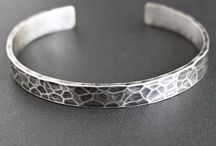 silver man bracelet