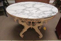 Antique Marble Furniture