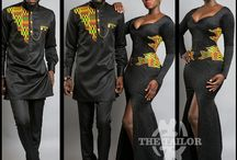 African Couple Outfit
