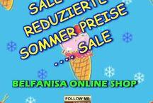 Sommer Sale im Online Shop / Reduzierte Sommer Preise - Sale !