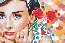 Frauenbilder in Farbe