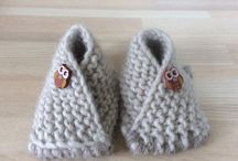 Booties / Easy knitting