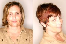 Before & After / What a style can do. Check out our wigs at www.HairAlternatives.net
