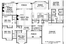 House plans / Single story