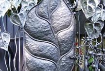 Blad poort / Een blad poort