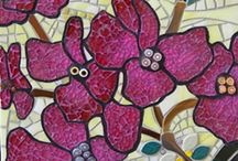 Mosaic and stained glass  / by Janette Hamilton