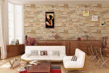 muros piedra salon comedor