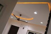 Ceiling Lighting Interior Design / New Way Of Lighting Effects in Ceiling by Konceptliving Interior Designs
