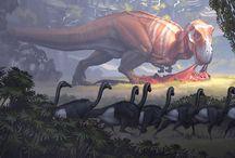 Dinosaur-themed novel ideas