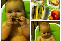 Baby Led Weaning / Baby led weaning or feeding - instead of purees