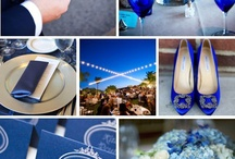 Blue Love / Wedding in blue, blue blue like the sky and the ocean of love...