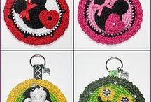 Crocheted Key Chains