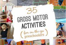 Gross motor preschool