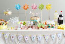 Happy Easter  / Une Sweet Table colorée et des gourmandises créatives...