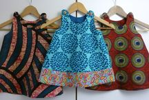 DIY african kids clothes