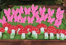 DISNEY FAIRY PARTY / Disney Fairies with green, yellow, Fusia Pink, Purple and Light Blue colour scheme