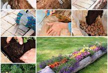 outdoor planters & yard decor
