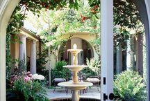 Stunning Courtyards