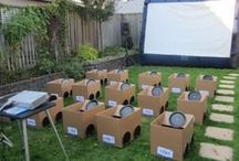 backyard movies / by Rebecca Jankauskas