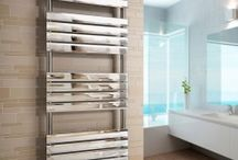 Designer Heated Towel Radiator / Designer heated towel rails add a finishing touch to a new bathroom, or can instantly make an existing bathroom look more updated. Willesden Bathrooms has a range of designer heated towel rails that come in different styles and sizes. We have sleek deigns, perfect for a statement piece in a modern bathroom, or we have more simple designs to go with a more traditional looking bathroom.