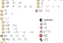 emoticons / by Shadae Lawson