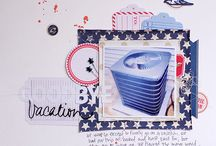 Scrapbook Layouts - Little Yellow Bicycle