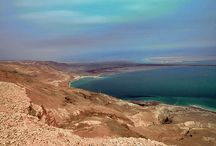Dead Sea / At 1388 feet below sea level, the Dead Sea is the lowest place on earth and the deepest hyper saline lake in the world. Many consider the 'sea of salt' the 8th wonder of the world.