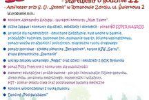 Inne imprezy w Rymanowie-Zdroju / Tablica informacyjna o wydarzeniach odbywających się w Rymanowie-Zdroju.