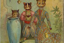 Katte  __  Engle og Alfer