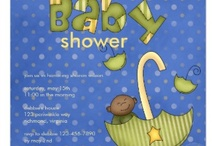 Colorful Baby Shower Invitations / Baby showers are so much fun. To set the mood of your shower choose a quality, easy to customize invitation. From baby themes, traditional colors or gender neutral styles these fun baby shower invites won't disappoint you. / by Lasgalen Arts