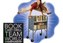 Book Cart Drill Team