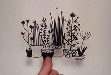 Kirigami - Fuyang / Kağıt kesme sanatı