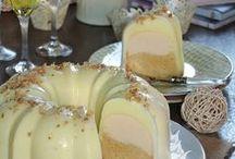 biscoflan con cobertura de gelatina de limón