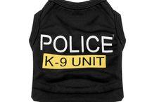 Police K-9 Unit Vest for Dogs