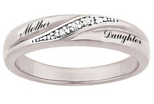 Mother/Daughter Rings / by Rhonda Sellinger Sheely