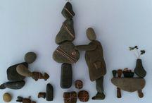 stones figurines