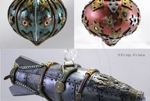 Steampunk Christmas Ornaments / Some Ideas and Inspirations