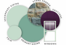 Exterior Paint Color Ideas / So many choices to choose from.....