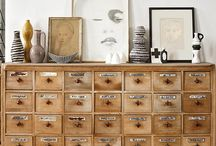 cassettiere vintage