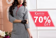 Kurtis / Get a awesome look with our beautiful Kurits.