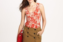 j. crew-aholic / my passion for fashion is simply a j. crew addiction / by Kayla Masnek