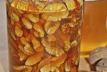 honig-walnüsse