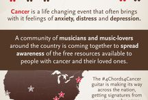 #4Chords4Cancer / A community of musicians and music-lovers around the world is coming together to spread awareness of the free resources available to people with cancer and their loved ones.